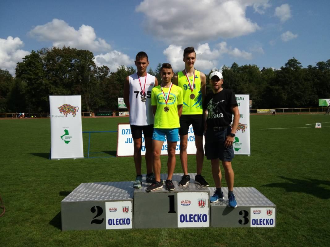 Wakacyjne sukcesy lekkoatletów Klubu Sportowego Parkiet Hajnówka