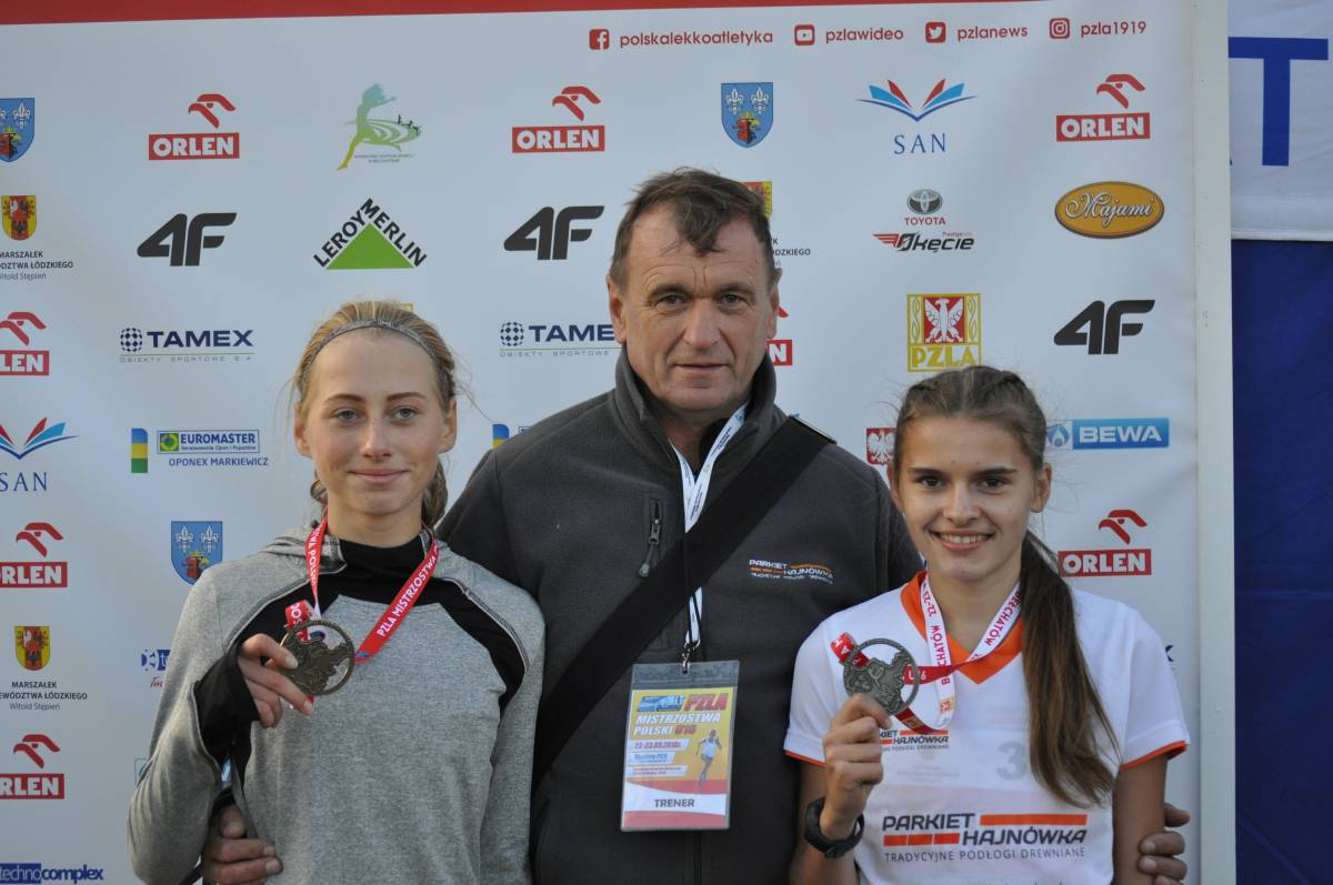 Małgorzata Karpiuk Wicemistrzynią Polski Młodzików U16