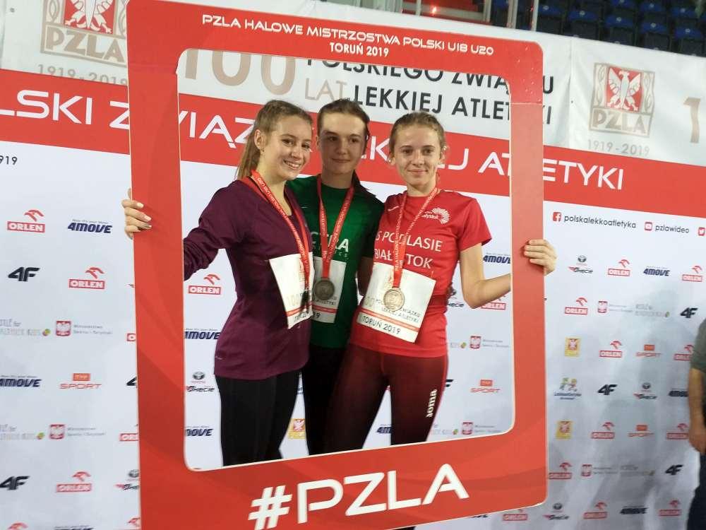 Na pięknej Hali Arena w Toruniu w miniony weekend odbyły się Halowe Mistrzostwa Polski U18 i U20.