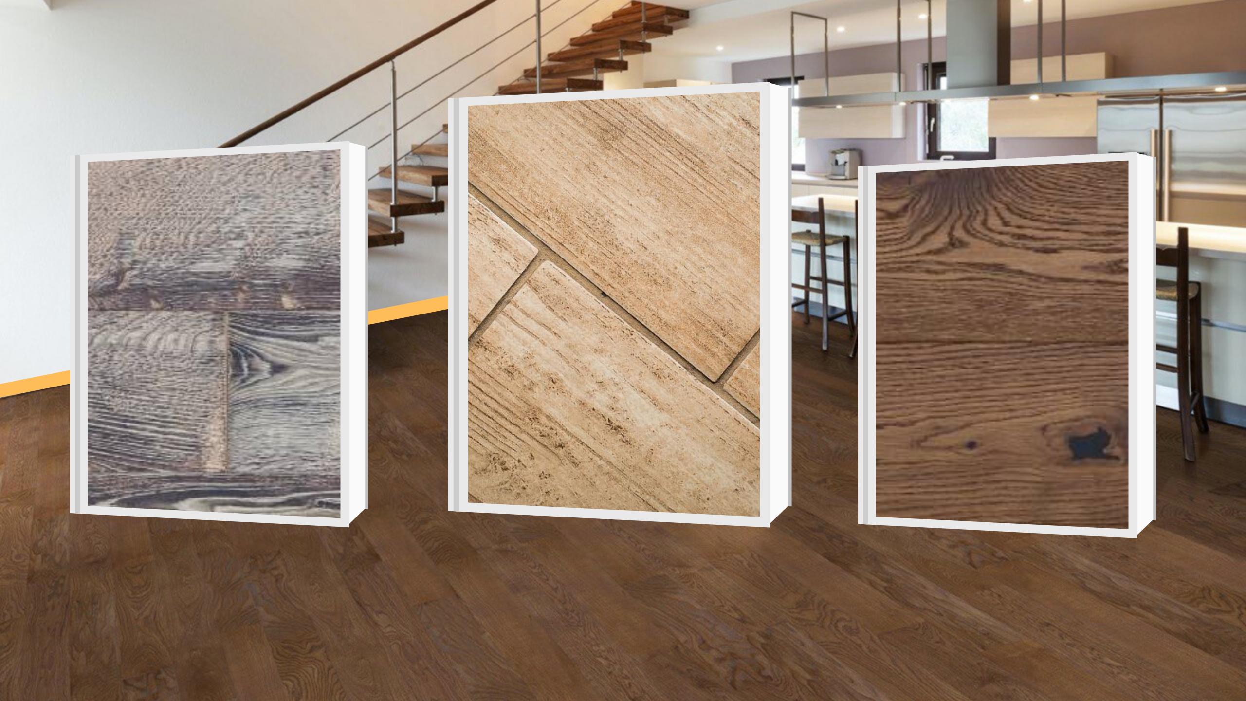 5 różnic pomiędzy podłogami drewnianymi, a płytką drewnopodobną. Dlaczego dębowe deski podłogowe są lepsze?